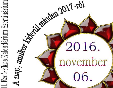 II. Ezoterikus Kalendárium Szeminárium